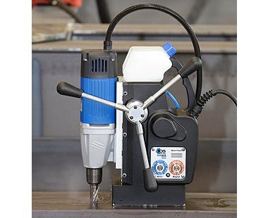 AutoMAB 350 Automatic Feed Portable Drilling Machine Application