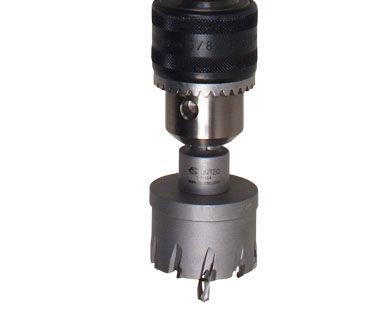 Cortador de orificios en EHB 16 / 2.4 SR / LC 2 velocidades, taladro de velocidad variable con embrague de seguridad
