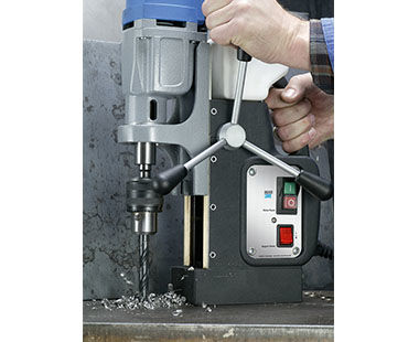 MAB 455 Portable Magnetic Drill with Twist Drill