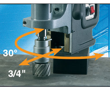 MAB 845 Portable Magnetic Drill Swivel Base