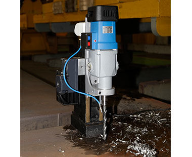 """MABasic 850 Portable Magnetic Drill Twist Drilling with 3/4"""" Chuck"""