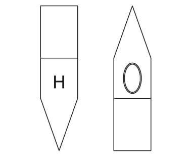 Ex106U Scaling Hammer Dimensional Drawing