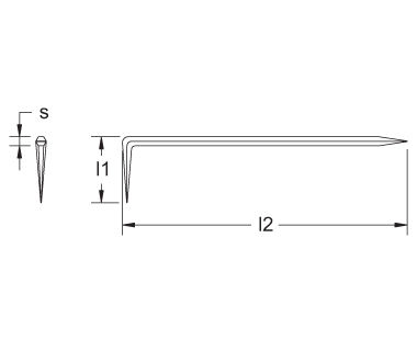 Ex1302 Non-Sparking, Non-Magnetic Angle Tracing Point Dimensions