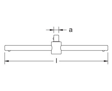 Ex1502 Sliding Bar Dimensional Drawing