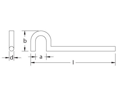 Ex207 Valve Wrench Dimensional Drawing