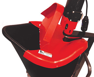 PMP80DC-23 estación de mezcla portátil con tapa de basiar