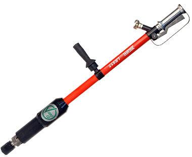 Low-Vibration Pole Scabbler