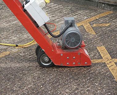 """TFP 200 Escarificador para pisos operado a pie de 8"""" Eliminación de línea"""