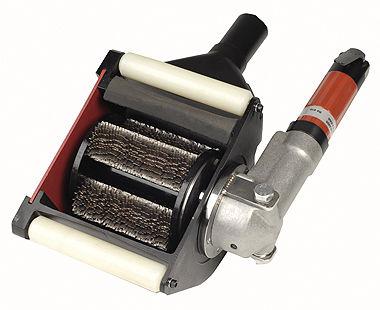 Escarificadores manuales neumáticos con cortador de estrellas