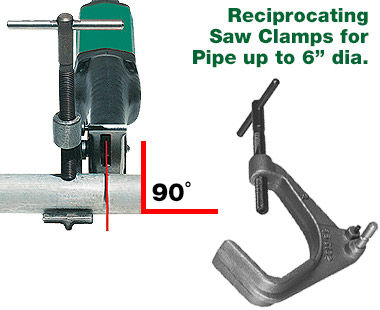 Clamps for Reciprocating Saws