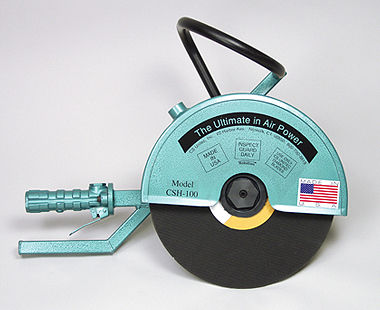 Hand-held Air-powered Concrete Saws
