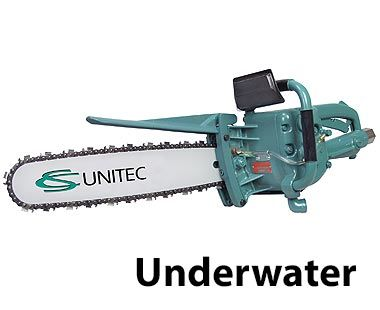 underwater pneumatic chain saw 4hp