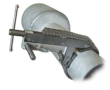 Universal Reciprocating Saw Clamp on pipe