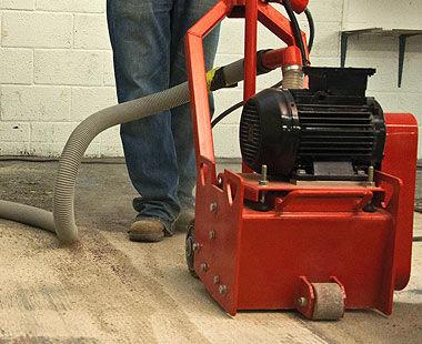 "TFP 260 10"" Floor Scarifier Application"