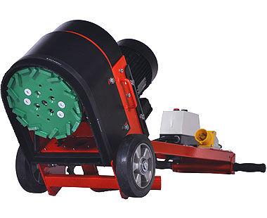 "10"" Heavy-Duty Wet/Dry Floor Grinder for Floor Preparation underneath unit"