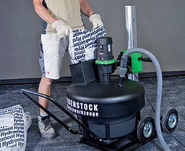 TwinMix 1800- reducir el polvo en el aire con el vacío