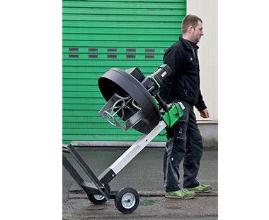 TwinMix 1800-fácilmente transportable