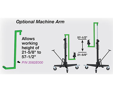 Optional Machine Arm
