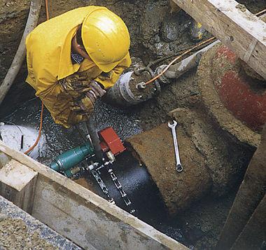 air pipe cutting machine