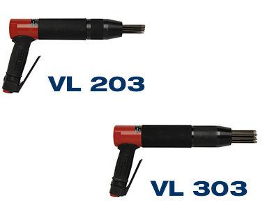 VL203 VL303 heavy-duty low-vibration needle scaler