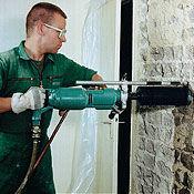 Hydraulic and Pneumatic Concrete Core Drills