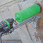 Diamond Core Drill for Holes in Concrete