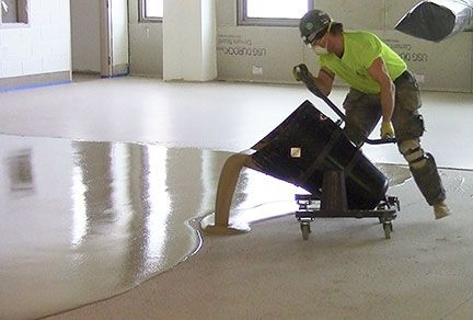 Easily move and accurately pour cementitious materials with Pelican Cart