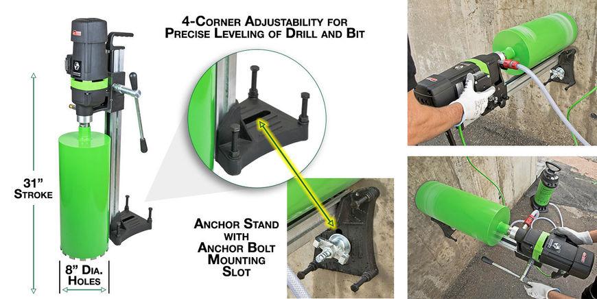 8-inch Diamond Core Drill