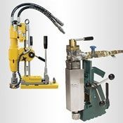 Hydraulic Magnetic Drills for Hazardous Environments and Ex Zones