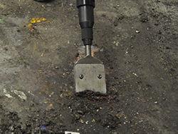 long reach lite chisel scraper coatings removal