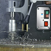 Portable Magnetic Drill for Metalworking
