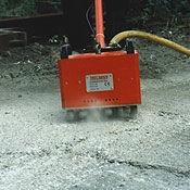 Desbastadoras de concreto: operadas a pie