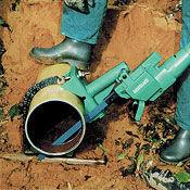 Hydraulic hacksaw for underwater use