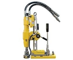portable hydraulic magnetic drill