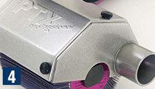Protector de cepillo ajustable y cubierta de recolección de polvo