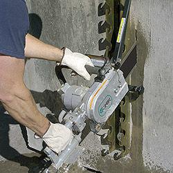 Concrete Chain Saw for Pipe