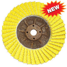 Sunfire ceramic flap disc