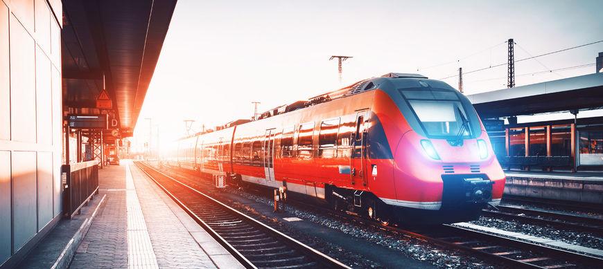 Train Station Descaling Train