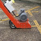 Escarificadores de concreto: operados a pie