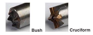 bush cruciform