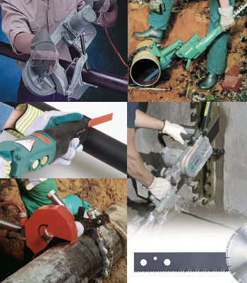 Heavy Duty Industrial & Hydraulic Air Saws | CS Unitec