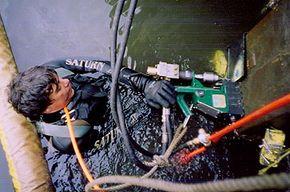 Diver Secure Steel Plates