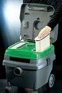 Sistema de limpieza de filtro de pulso electromagnético