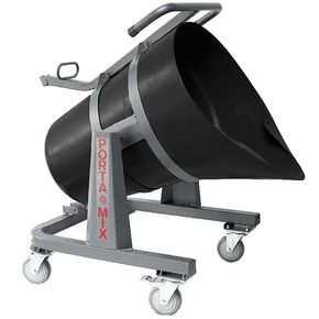 Accurately move and pour cementitious materials with Pelican Cart