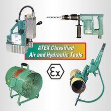 Herramientas industriales con certificación ATEX