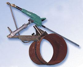 Self-feeding Pipe Clamp for Pneumatic Hacksaw