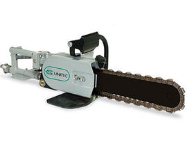 Air concrete chain saw