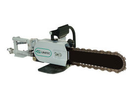 Pneumatic PowerGrit Pipe Cutting Chain Saws for Ductile Iron
