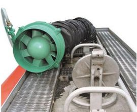 Explosion-Proof Pneumatic Axial Fans