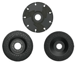 Reduced Sparking EB Diamond Grinding Discs